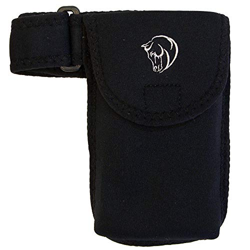 Coronet Head - Intrepid International Cell Phone Case with Embroidered Wow Horse Head