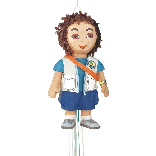 Dora the Explorer Diego Pinata, Pull String - Dora And Diego Costume