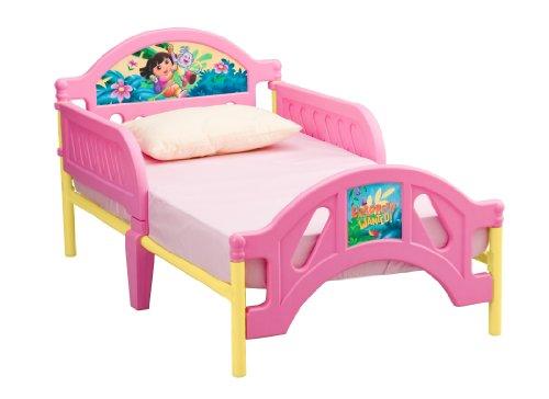 Dora the Explorer Toddler Bed (Delta Dora The Explorer Bed)