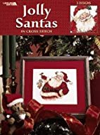 Jolly Santas in Cross Stitch by Leisure Arts