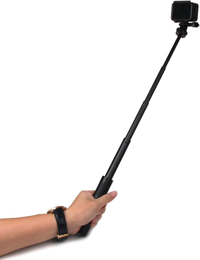 MeterMall VELEDGE 8//20.5cm Double Ball Arm Suitable for Gopro Strobe//Video Light Diving Underwater SLR Camera Photography Lighting Tool