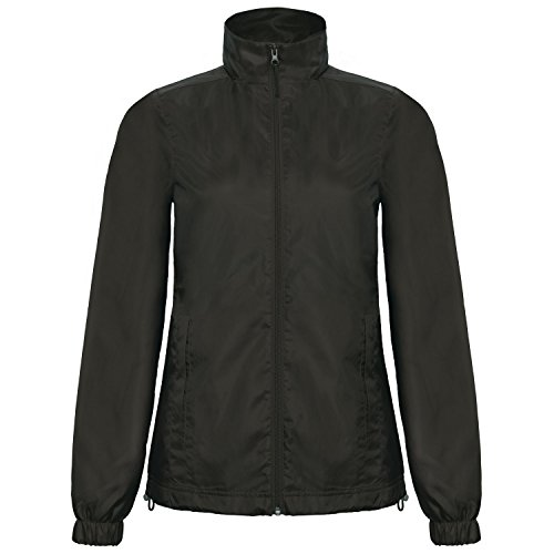 Hooded ID B Windbreaker 601 Ladies Jacket amp;C Red Showerproof Womens 4qw6w1PX