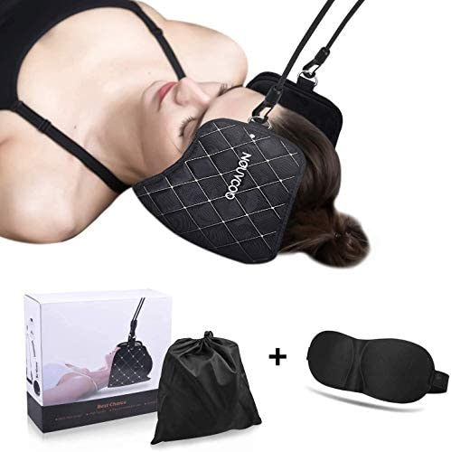 ETEPON Hals Hängematte Nacken Hängematte - Tragbare Kopf/Nackenmassagegerät zur Linderung von Nacken/Rückenschmerzen, zur Entspannung und Physiotherapie zu Hause, im Büro oder auf Reisen