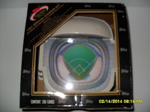1991 Topps Stadium Club Baseball Set - -