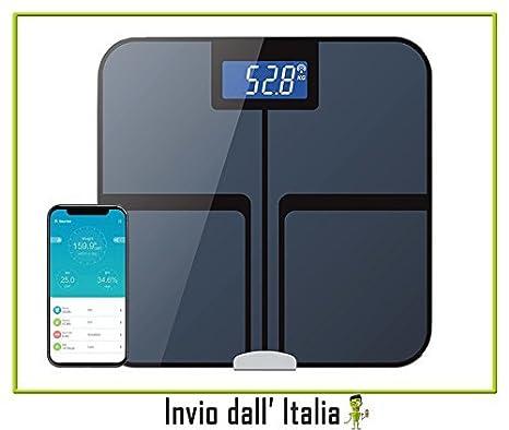 Báscula Smart para el análisis corporal, báscula digital, báscula electrónica de baño – Bluetooth