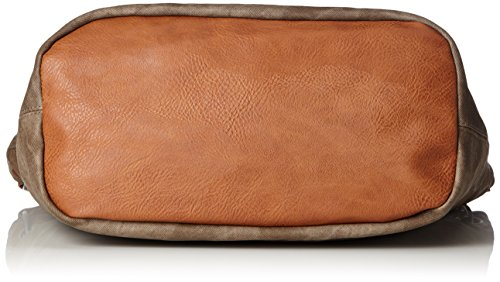 Marco Tozzi 61013 - Borsette da polso Donna, Braun (Pepper Comb), 33x32x18 cm (B x H T)