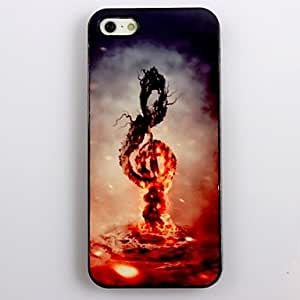 GJY Music in Fire Design Aluminum Hard Case for iPhone 4/4S