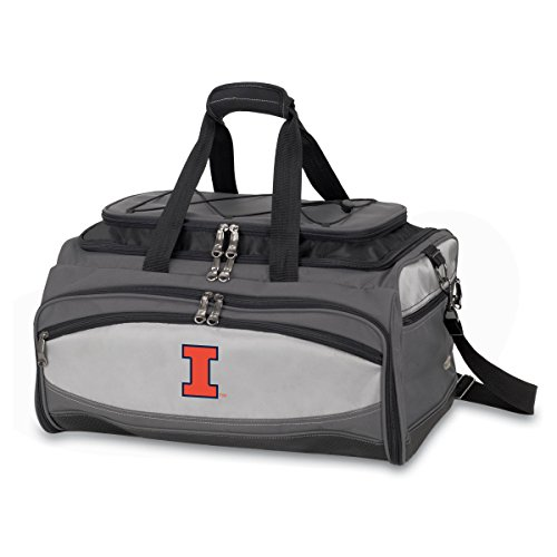 NCAA Illinois Fighting Illini Buccaneer Tailgating Cooler with Grill