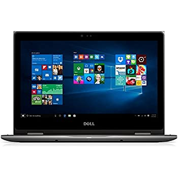 "Dell i5368-1692GRY 13.3"" FHD 2-in-1 Laptop (Intel Core i3-6100U 2.3GHz Processor, 4 GB RAM, 1 TB HDD, Windows 10) Gray"