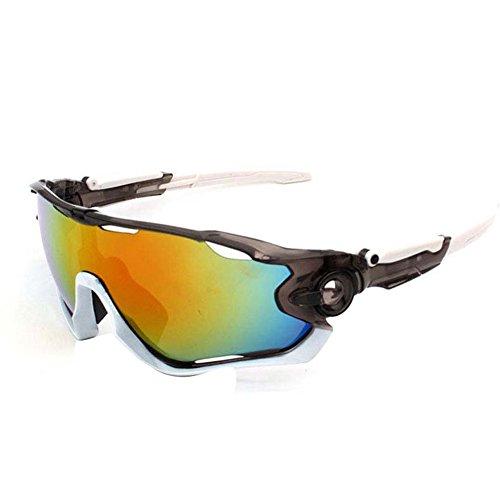 Lunettes conduite jambe glasses miroir de de soleil 3 de Lunettes homme SUDOOK réglable Cycing soleil avec Sport 46SvEnf