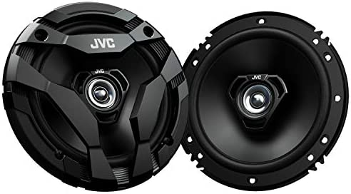 4 Speakers 2 Pairs of JVC CS-DF620 6 1//2 drvn DF Series Coax Speaker with Gravity Magnet Phone Holder Bundle