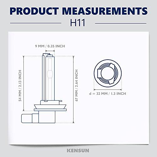 amazon com 55w kensun hid xenon conversion kit all bulb sizes and rh amazon com HID Headlights M Azda Rx7 1985 HID Kit