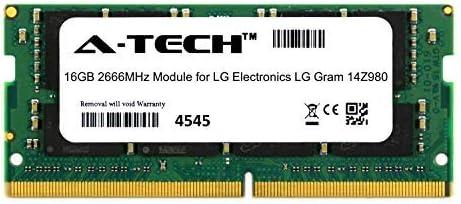ATMS369027A25832X1 A-Tech 16GB Module for LG Electronics LG Gram 14Z980 Laptop /& Notebook Compatible DDR4 2666Mhz Memory Ram