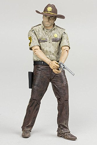 Walking Dead The TV Series 7 Exclusive  Rick Grimes Action Figure (Walking Dead Tv Series 5 Action Figures)