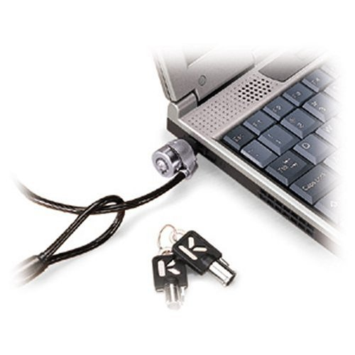 Kensington 64032 Master Lock Universal Notebook Security Cable - Black