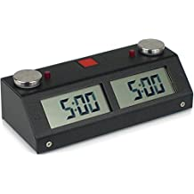 Chronos GX Touch Chess Clock - Black by The Chess Store