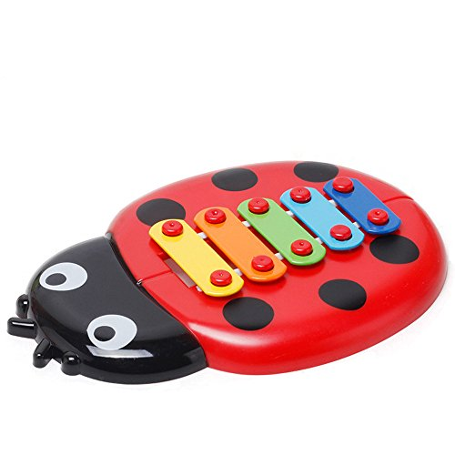 Euone  Musical Toys, Colorful Ladybird Toys Baby