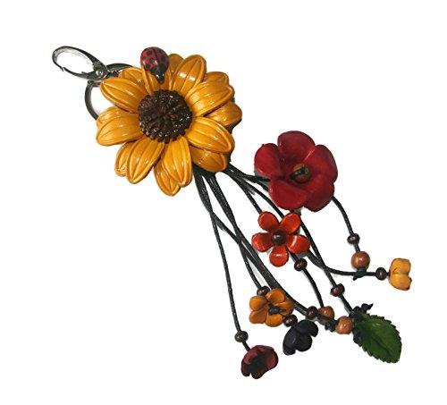 Bella Pazzo Handmade Sunflower Keychain product image