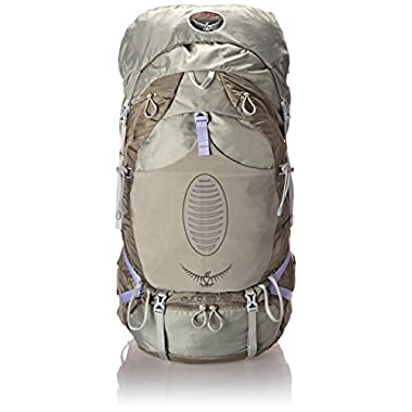Osprey Women's Aura AG 65 Backpack, Silver Streak, Medium