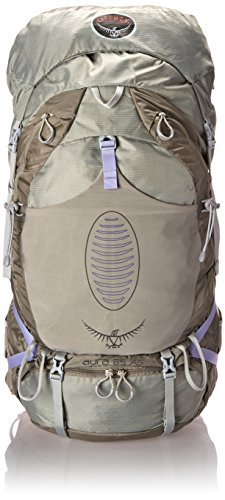 Frame Pack Internal Cordura (Osprey Women's Aura AG 65 Backpack (2017 Model), Silver Streak, Medium)