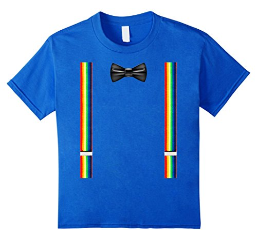 Suspenders and bowtie clown costume T-shirt