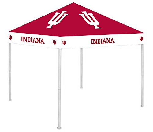 Rivalry RV225-5000 Indiana Hoosiers Canopy (Ultimate Tailgate Tent Canopy)