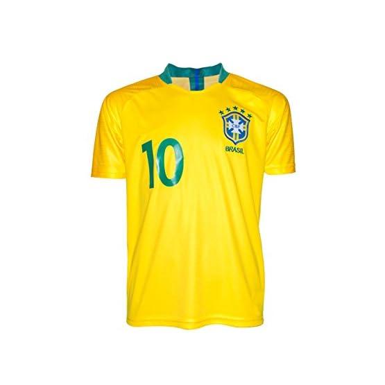 SVB Brésil Coupe du Monde wm18# 10Neymar-Enfant Maillot et Pantalon, avec Chaussettes