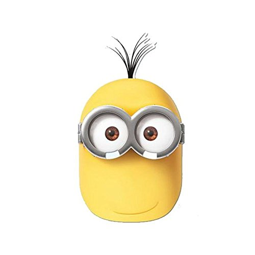 Despicable Me Uk Minion Costume (Minions Kevin Card Face Mask)