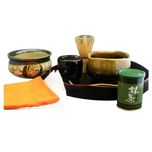 Mino Ceramic Ware Introductory Set Tea Ceremony [Japan Import] by NAGOMI by NAGOMI