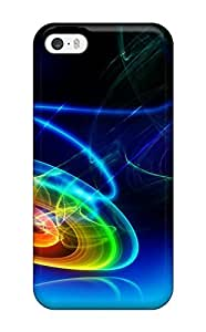 JeffreySCovey Snap On Hard Case Cover Shapes Abstract Protector For Iphone 5/5s