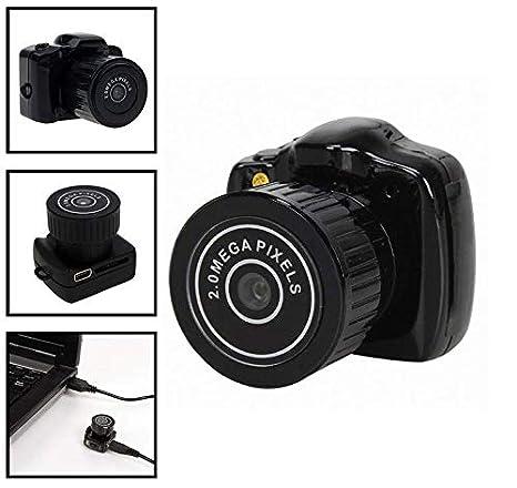 EEvER Diseño Mini cámara espía Oculta, DV HD Digital Mini cámara Vigilancia Nocturna con detección de Movimiento - - Batería de Larga duración - Ideal: ...