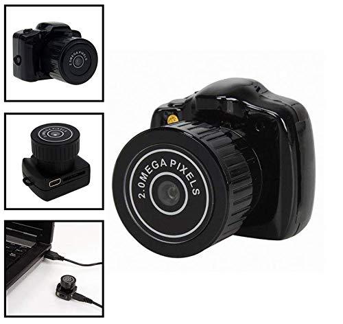 Mini cámara espía Oculta de Regalo para DV, HD, detección de Movimiento, visión Nocturna, batería de Larga duración,...