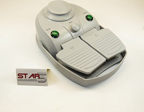 Foot Control Pedal Dental 2 Hole With 6 Functions Without Tubing B2 STAR5 ()