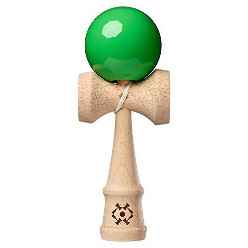 Kendama USA - Tribute Kendama - Wooden Skill Toy - Green