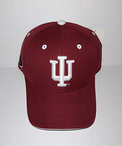 Colosseu Indiana University Hoosiers Adjustable Hat 3D Embroidered Cap
