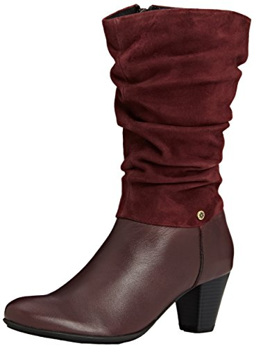Van Dal Kline, Women's Calf Boots Red (Port)