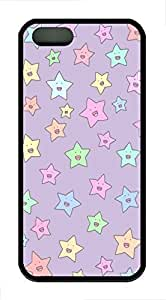 Colorful Lovely Stars Soft Rubber Case Cover iPhone 5S 5