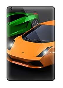 Best Flexible Tpu Back Case Cover For Ipad Mini 2 - Lamborghini Gallardo 2007 Hd 8960415J86560517