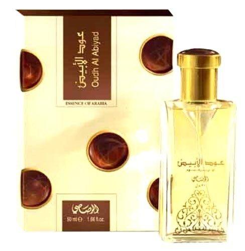 Dubai Tester Perfume Review: EDP OUD AL ABIYAD ESSENCE OF ARABIA By Rasasi Perfumes Dubai 50ML Unisex Exotic Arabian Perfume