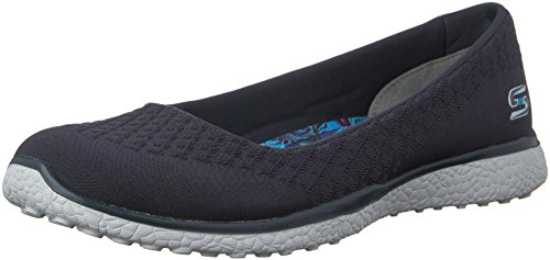 Sport Up Active Shoes Soft Women's Knit One Light Charcoal Mf Skechers Microburst Skimmer with Gray EqwB5WX