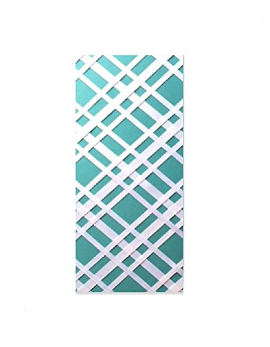 (Bulletin-Memo Board and Picture Frame: Teal and White (Slim (9