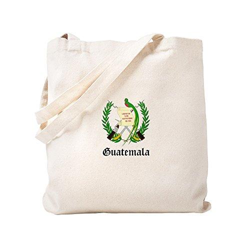 CafePress - Guatemalan Coat Of Arms Seal - Natural Canvas Tote Bag, Cloth Shopping Bag by CafePress (Image #2)