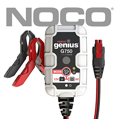 - NOCO Genius G750 6V/12V .75 Amp Battery Charger and Maintainer