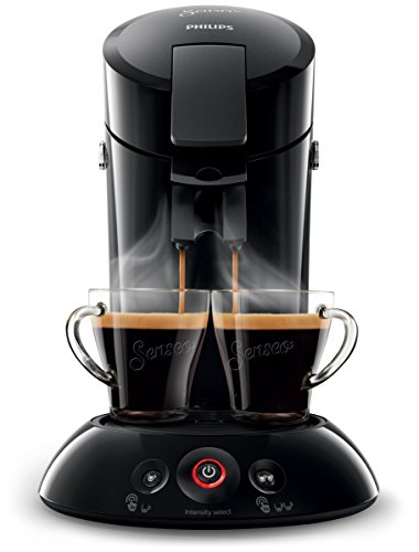 Philips HD6554/68 Senseo Kaffeepadmaschine, schwarz 1