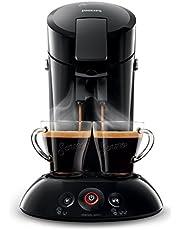 Philips Senseo Original Koffiepadapparaat - Twee kopjes tegelijk - Met crèmelaagje - Koffieboosttechnologie voor een rijkere smaak - Intensiteitselectie - Zwart - HD6554/68