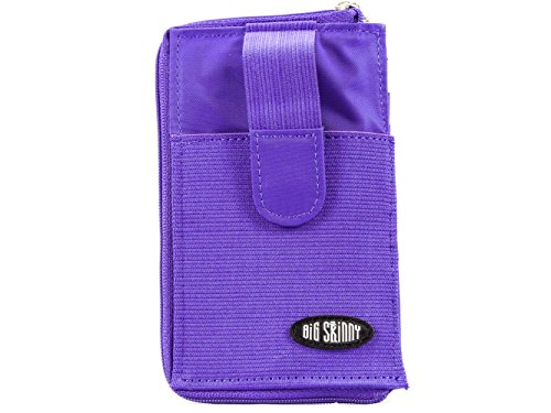 9 Cards Big Up Wallet Sport to Slim Skinny Cellphone Holds Purple qzfwCB