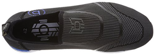 Bugatti 341305636900, Baskets Enfiler Homme Noir (Schwarz)