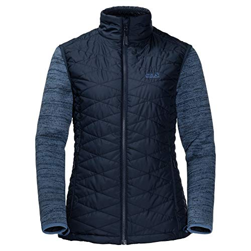 Jack Wolfskin Women's Aquila Glen Jacket, Medium, Midnight - Jacket Midnight Taffeta