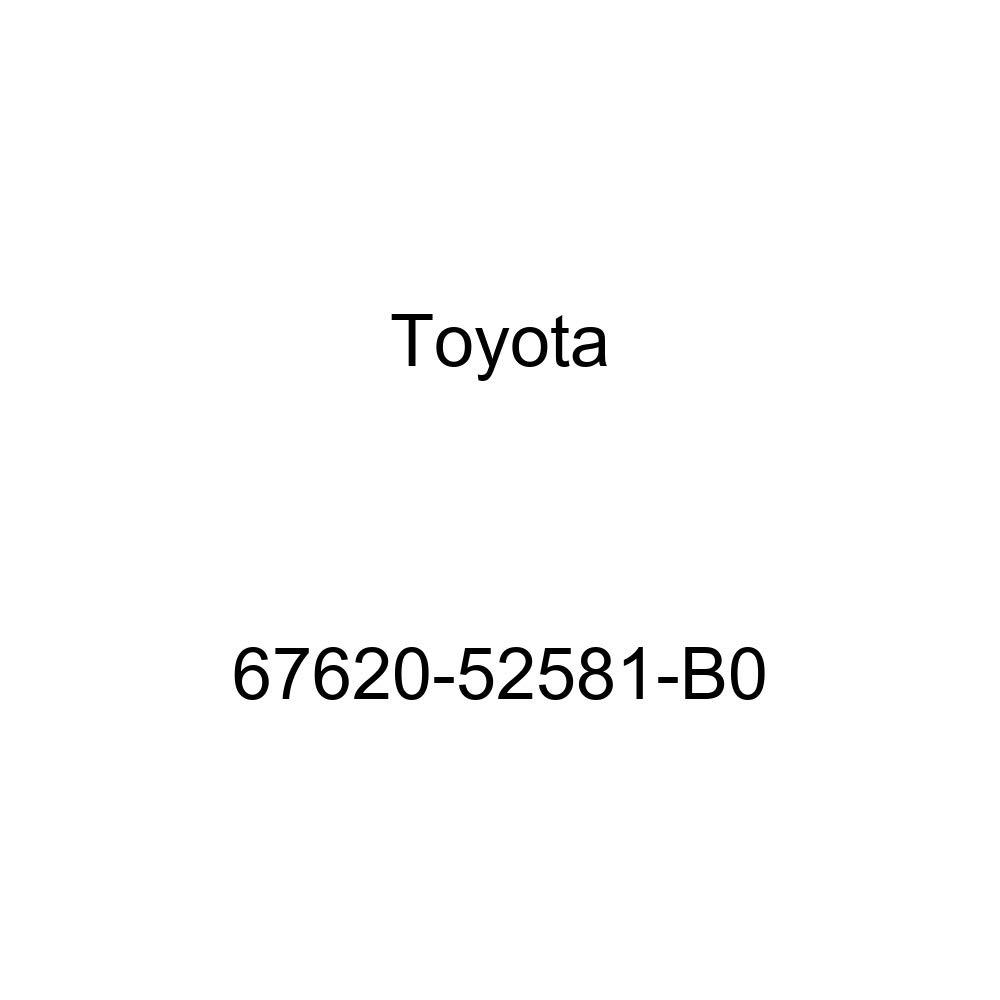 Genuine Toyota 67620-52581-B0 Door Trim Board