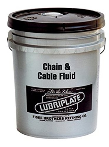 LUBRIPLATE L0135-035 Petroleum-Based Oil Chain and Cable Fluid, 5 gal